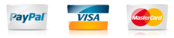 Secure payment options through Master Card, Visa, Paypal.